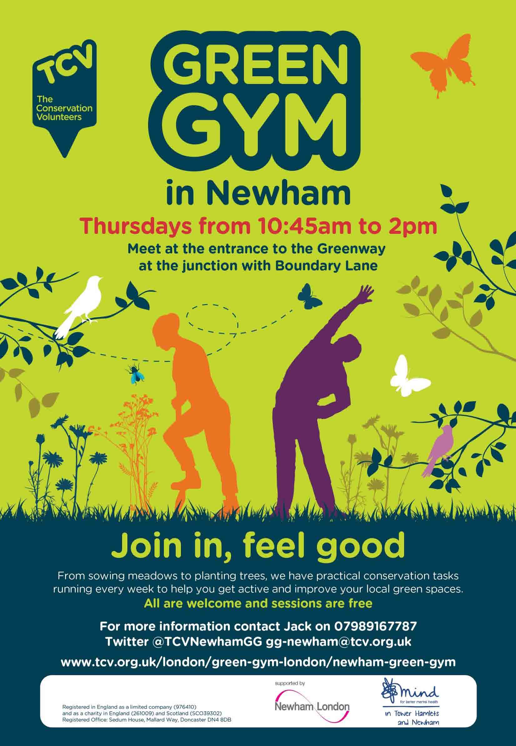 Green Gym flyer