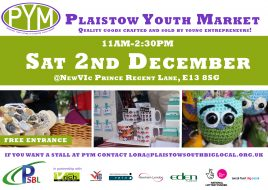 Plaistow Youth Market @ NewVIc - Newham 6th Form College